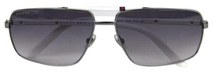 Gucci New Gucci Sunglasses Metal Frame with BRB Web w/Box 289659 1075