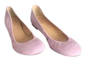 J.Crew Ballet Brand New Suede Size 8 Lilac Flats