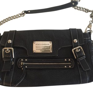 Dolce&Gabbana Black Messenger Bag
