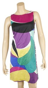 Emilio Pucci short dress Multi-Color Cotton on Tradesy
