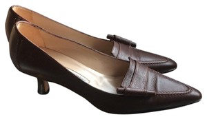 Manolo Blahnik 6.5 Loafer Comfortable Heel Pumps