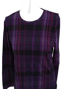 Lauren Ralph Lauren Top Purple plaid design
