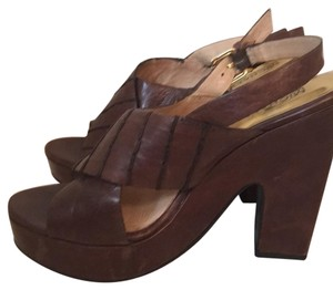 MICHAEL Michael Kors Chocolate Brown Sandals