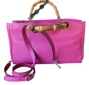 Gucci New Satchel in Hot Pink