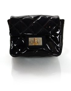 Chanel Ankle Wrist Wristlet in Black
