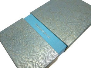 Tiffany & Co. Rare Collectibles 8 Gold Scale Pattern Envelope Holiday Set