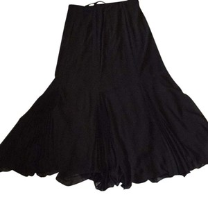 Alex Evenings Maxi Skirt Black