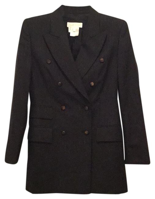 Item - Grey Rose Gold Double Breasted Wool Blazer Size 2 (XS)