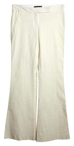 Theory Flare Pants Ivory Pink