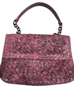Bottega Veneta Snakeskin Olimpia Shoulder Bag
