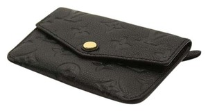 Louis Vuitton Louis Vuitton Black Empreinte Compact Curieuse Wallet NEW