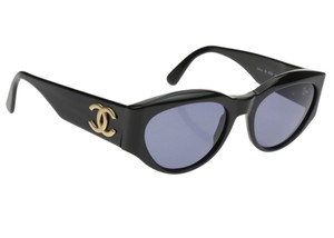 Chanel Black 04152 Cat Eye Sunglasses