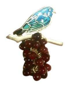 J.Crew MARC ALARY FOR J.CREW BIRDBERRY BROOCH