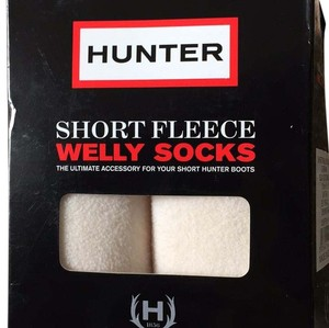 Hunter Hunter Short Fleece Welly Socks