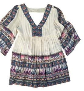 Free People short dress colored on Tradesy