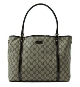 Gucci 197953 Gg Plus Tote in Brown