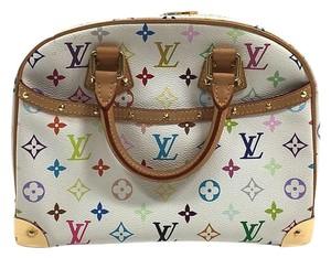 Louis Vuitton Lv Lv Trouville Satchel in Multicolor