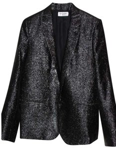 Saint Laurent Tuxedo Sparkle Ysl Laurent Black Blazer