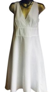 BCBGMAXAZRIA short dress white New on Tradesy