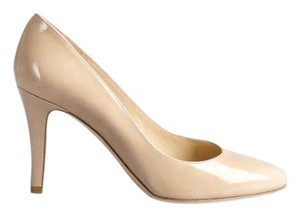 Jimmy Choo Patent Leather Italian Nude Pumps