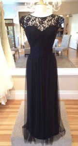 Amsale Black G932 Dress