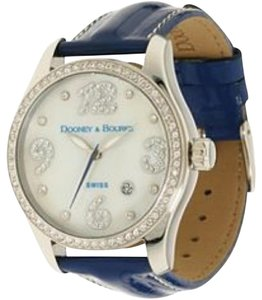 Dooney & Bourke Crystal Patent Leather Watch