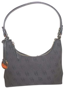 Dooney & Bourke New Monogram Jacquard Lined Shoulder Bag