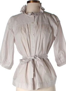 See by Chloé Button Down Shirt Beige