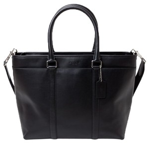 Coach Leather Work Men S Tote Laptop Bag