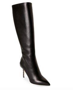 Dolce&Gabbana Studded Leather Nwt Black Boots