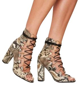 Privileged Snakeskin Boots