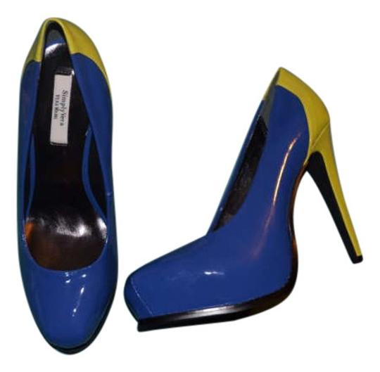 Preload https://item3.tradesy.com/images/simply-vera-vera-wang-svdaniblue-blue-and-lime-green-pumps-size-us-75-202877-0-0.jpg?width=440&height=440