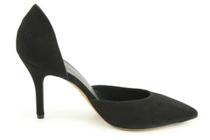 Vince New Shoelovers Leather Party Black Pumps