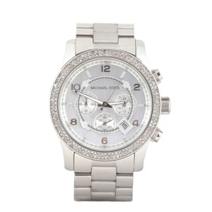 Michael Kors Silver Runway Bracelet Watch