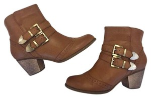 Restricted Brown Boots