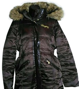 Coogi Faux Fur Puffer Coat