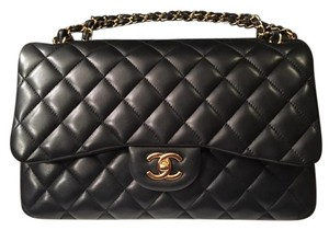 Chanel Jumbo Classi Double Flap Lambskin Handbag Shoulder Bag
