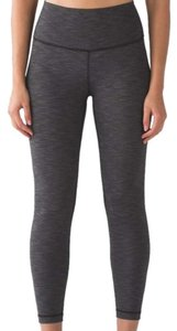 Lululemon Nwt Lululemon High Times Heathered Black Luxtreme Size 4