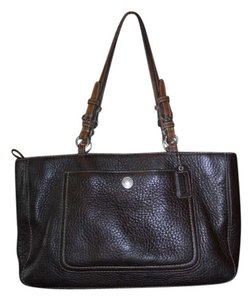 Preload https://item2.tradesy.com/images/coach-pebbled-brown-leather-tote-202881-0-0.jpg?width=440&height=440