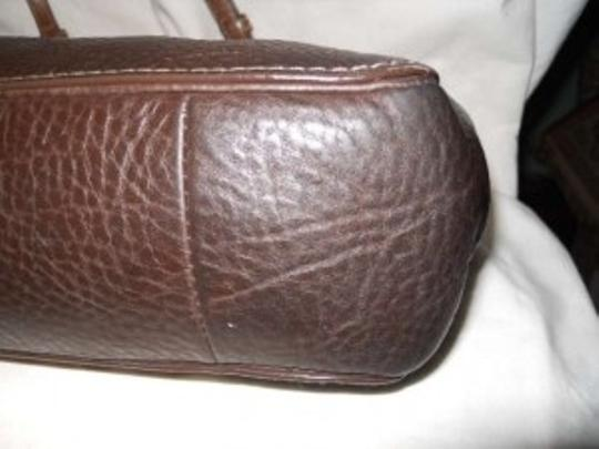Coach Leather Tote in brown