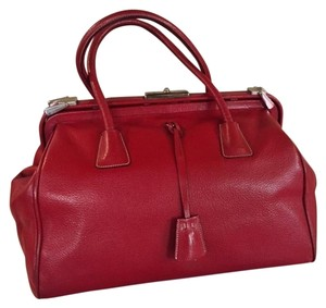 Prada Vintage Satchel in Red