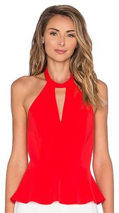 Amanda Uprichard Holiday Party Christmas Party New Years Eve Choker Top Candy Apple