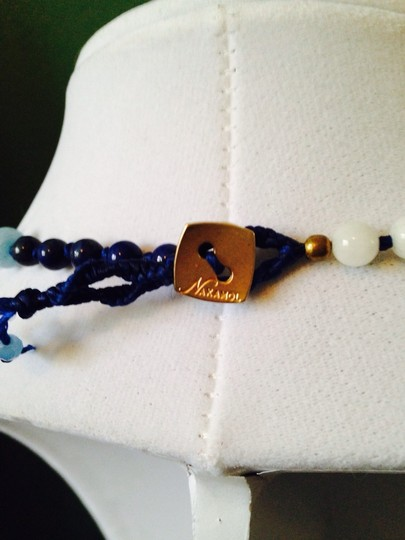 Nakamol Blue Hand-Knotted Long Mixed-Stone Necklace Image 6