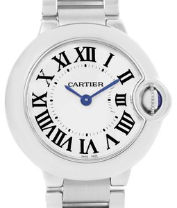 Cartier Cartier Ballon Blue Stainless Steel Small Ladies Watch W69010Z4