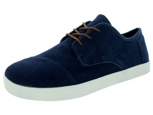 TOMS Men's Paseo Suede Paseo Navy Boots