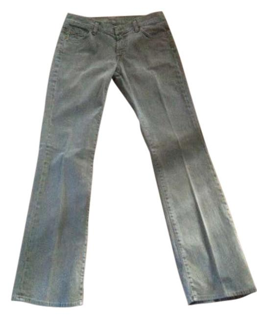 Item - Light Green Wash Boot Cut Jeans Size 29 (6, M)