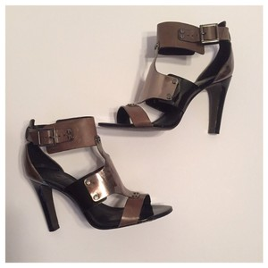 Tory Burch Gunmetal & Brown Formal