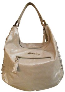 Kenneth Cole Sparkle Suede Crossbody Hobo Bag