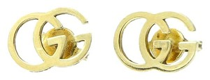 Gucci Gucci Double G 18K Gold Earrings