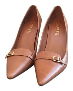 Lauren Ralph Lauren Brown Heels Heels Tan Heels Brown Heels Office Heels Brown/Tan Pumps